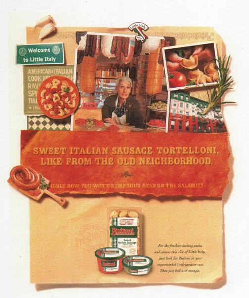Buitoni Print Campaign