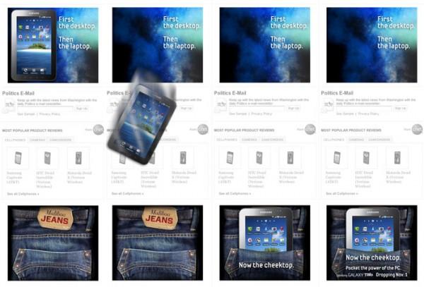 Samsung Mobile Banner Ads