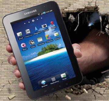 Samsung Tab Wallscape